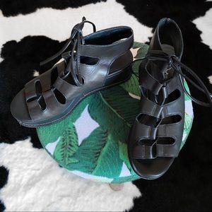 Jeffrey Campbell Ximeno Lace-Up Platform Sandals